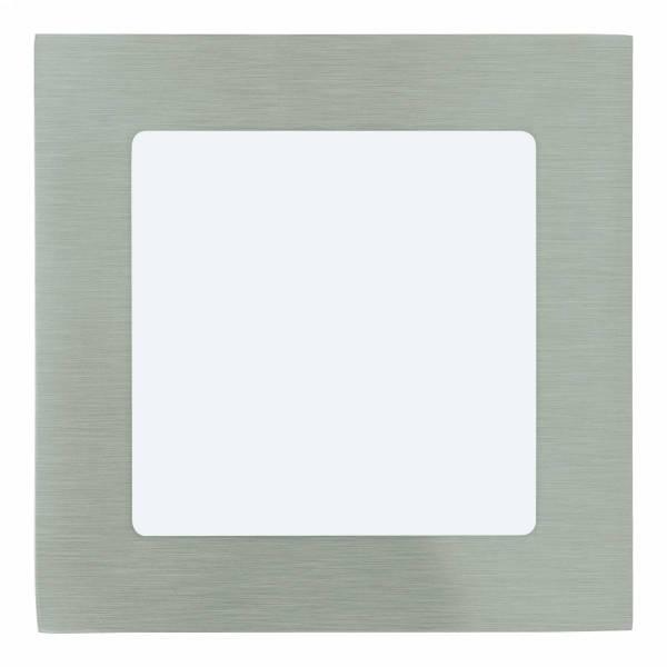 Fueva 1 square / IP20 5,5W 4000K nickel-matt IP20