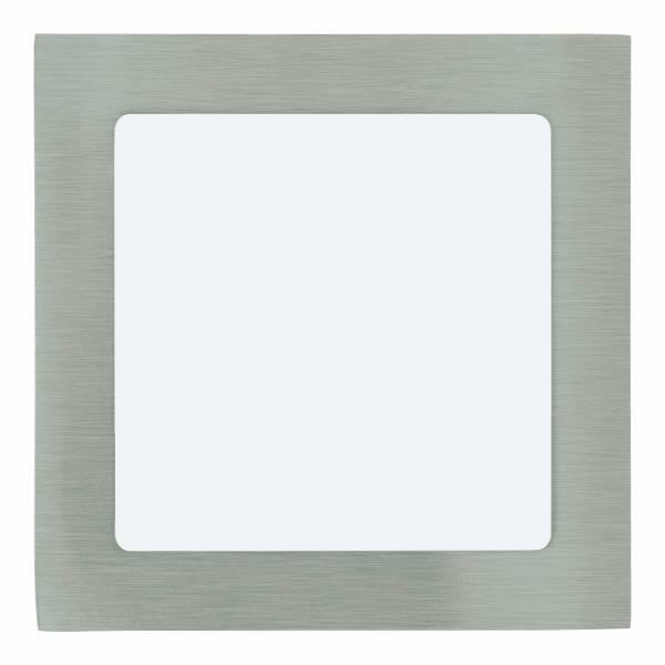 Fueva 1 square / IP20 10,9W 3000K nickel-matt IP20