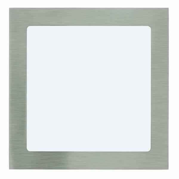 Fueva 1 square / IP20 16,5W 3000K nickel-matt IP20