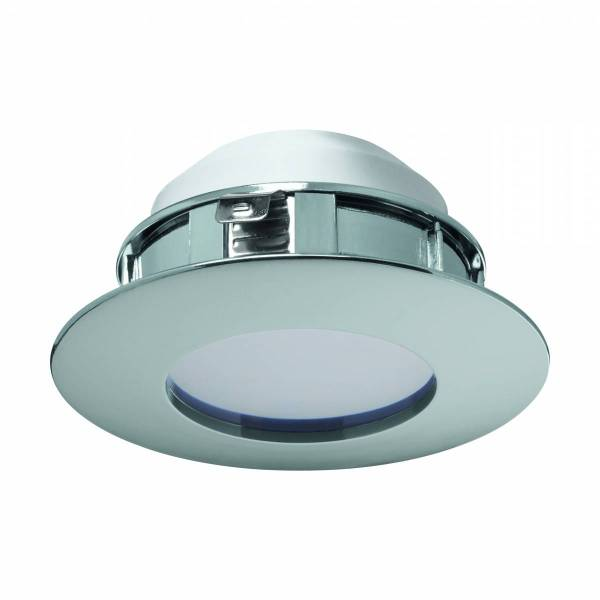 Pineda fixed / dimmable 6W 3000K chrome