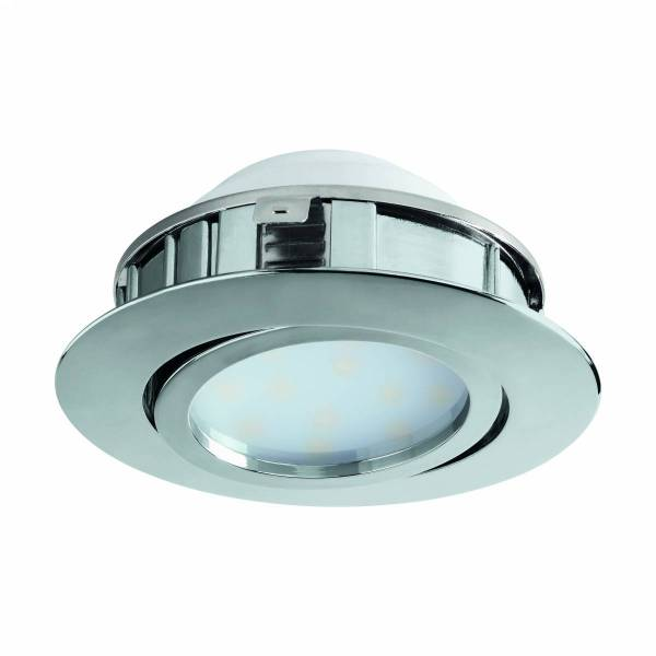Pineda round / dimmable 6W 3000K chrome