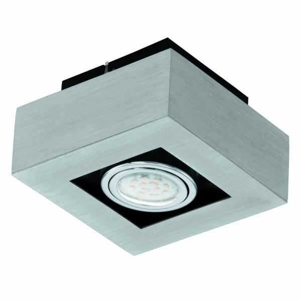 "surface luminaire ""Loke 1"" 5W 3000K aluminium brushed IP20"