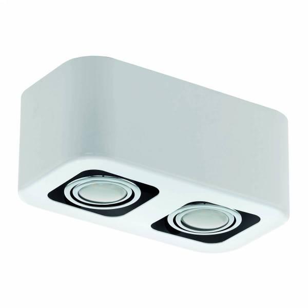 """surface luminaire """"Toreno"""" 2x5W 3000K white IP20"""