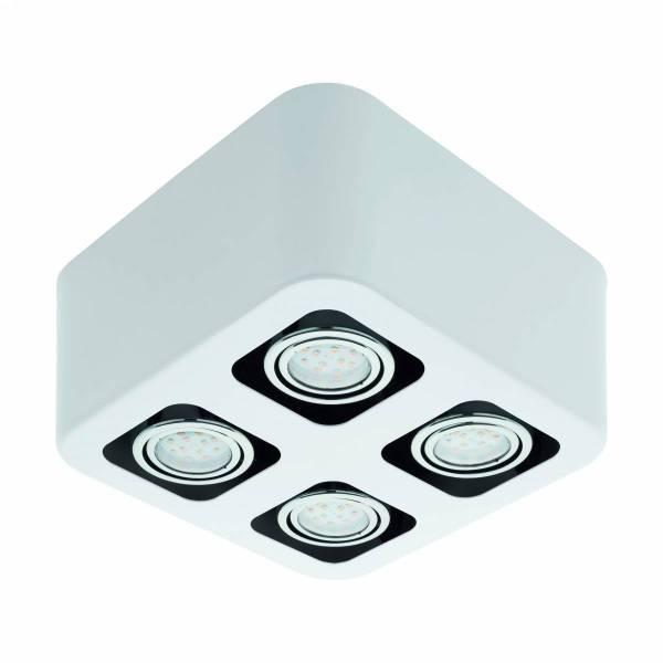 """surface luminaire """"Toreno"""" 4x5W 3000K white IP20"""