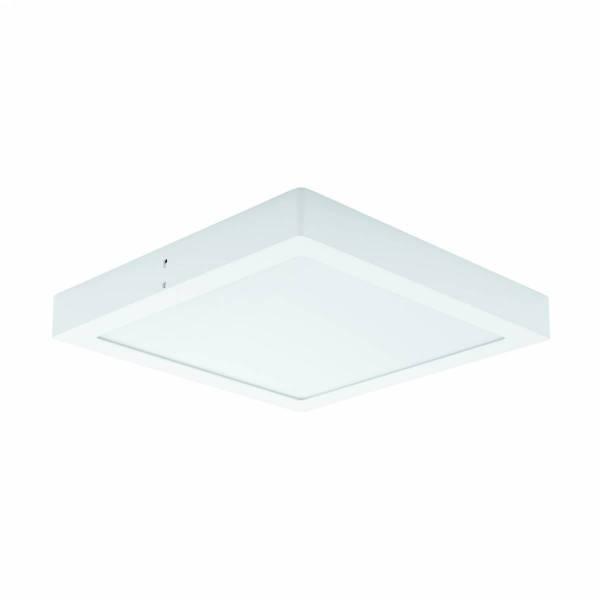 "LED-surfacespot ""Fueva 1"" square / IP44 22W 3000K white IP44"
