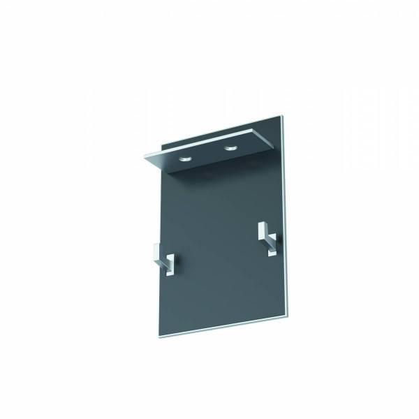 End cap aluminium anodised for Linear Profile Small