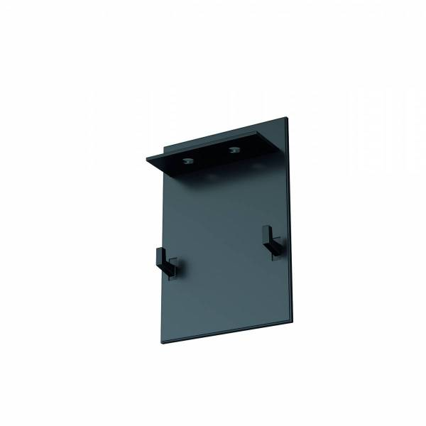End cap black anodised for Linear Profile Small