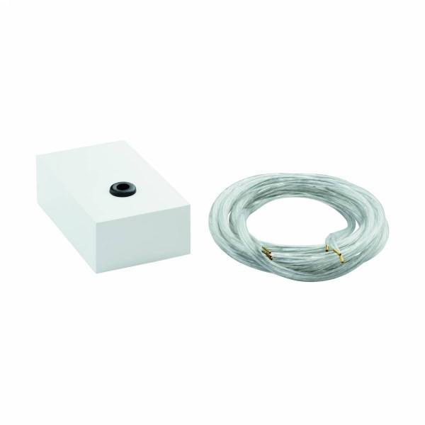 Feed-in 5 polig white matt IP20