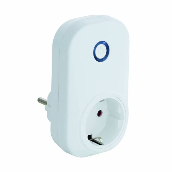 Socket with on/off function max. 2300W white