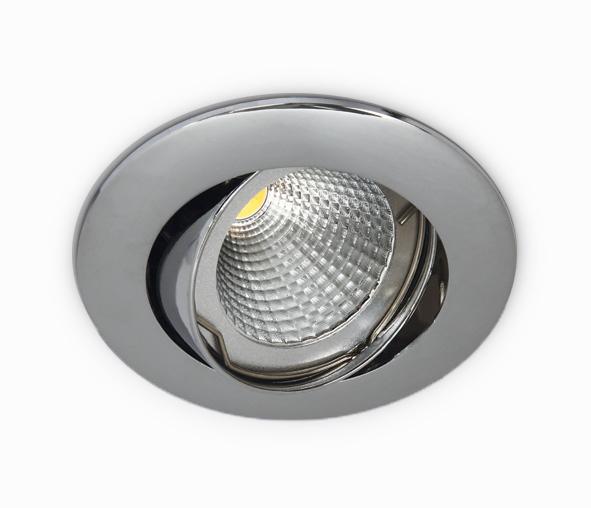 Punto-A MR16 Spot, GU5,3, 50W, IP20, 12V, chrome