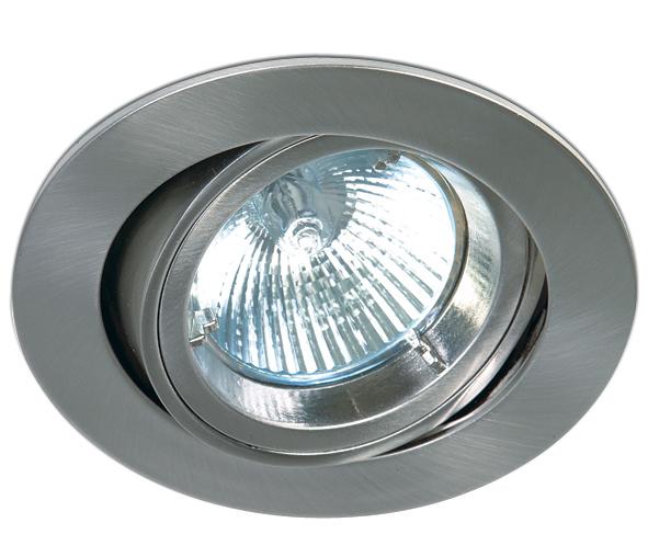 Punto-A MR16 Spot, GU5,3, 50W, IP20, 12V, natural aluminium