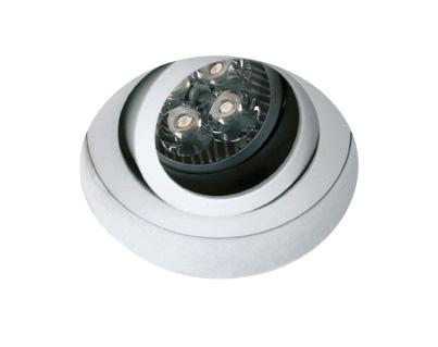 INA-R/T GU10 MR16, GU10, trimless, IP20, white
