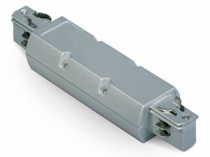 3PH- central feed-in unit, grey, Serie BLUE LINE ROUND