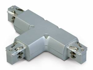 """3PH- """"T"""" connector,white, Serie BLUE LINE ROUND"""
