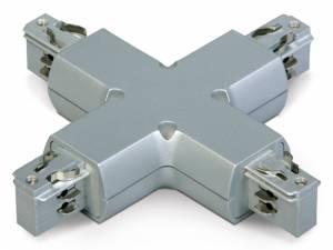 "3PH- ""X"" connector,white, Serie BLUE LINE ROUND"