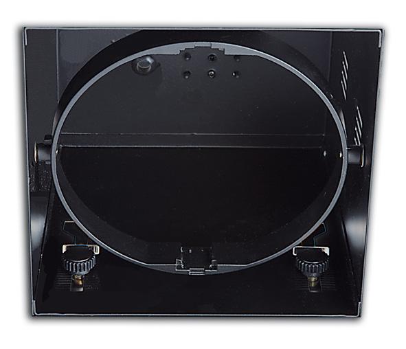 51100TR/B, BLACK 1L TRIMLESS BOX