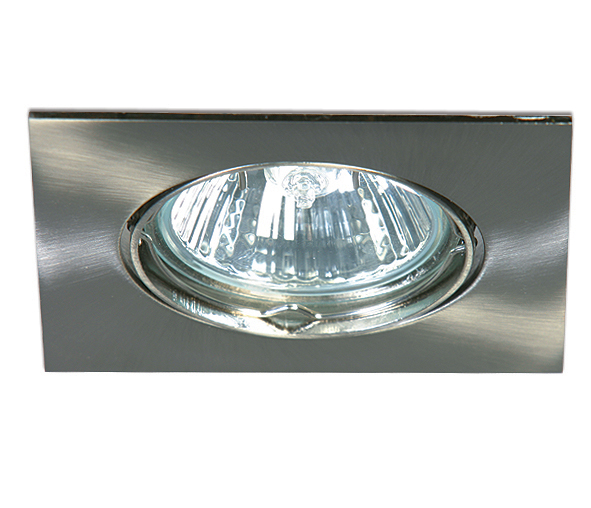 Pinta-A MR16 Spot angular, GU5,3, 50W, IP20, brushed chrome
