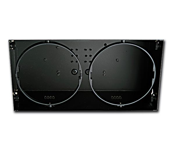 51200TR/B, BLACK 2L TRIMLESS BOX