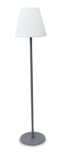Decco floor luminaire, E27, 20W, IP65, anthracite