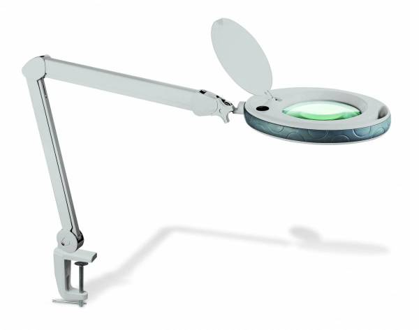 Magnifying lens with LED light 8W, 760lm, 6000K 230V, white