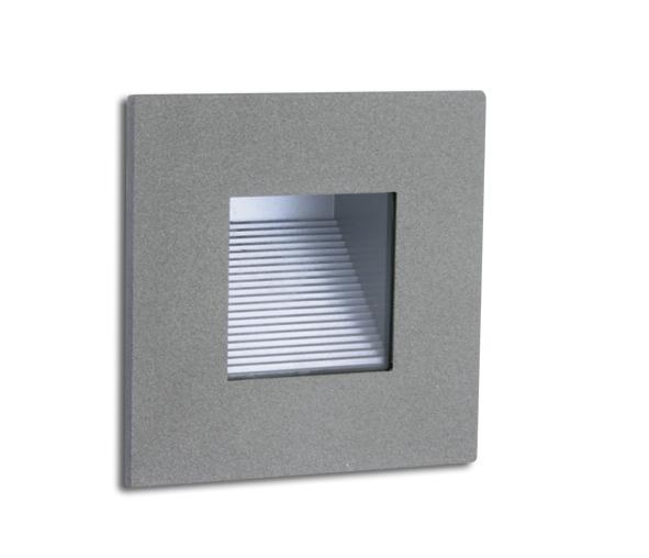 Scala-Q LED 1W 3000K, IP44, grey