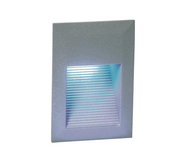 Cave Square LED 1,5W, 3000K, 230V, IP54, grey, incl. driver