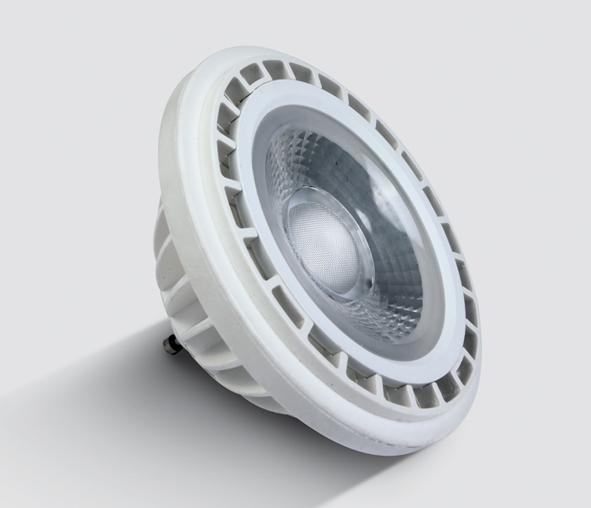 7315G/W/45, LED R111 GU10 15w WW 45deg 230v