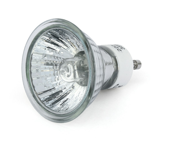 Halogen-reflektorlamp GU10, 42W, 40°