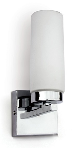 Mirall Mirror light, E14, 40W, IP44, chrome