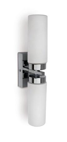 Mirall Mirror light, E14, 2x40W, IP44, chrome
