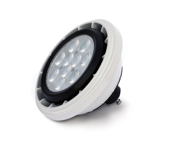 LED GU10 R111, 13W, 4000K, 850lm, 230V, 24°, dimmable