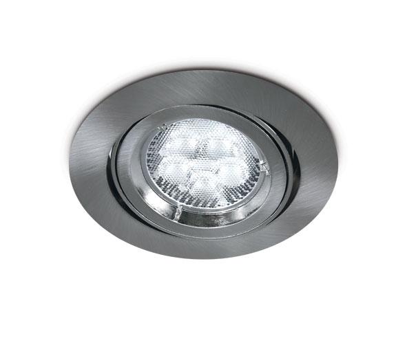 Ina-A MR16, GU10, 50W IP20, adjustable, chrome