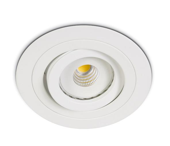 Punto-A/AL MR16, GU10, 50W, IP20, adjustable, white