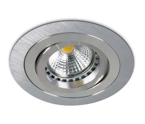 Punto-A/AL MR16, GU10, 50W, IP20, adjustable, alu
