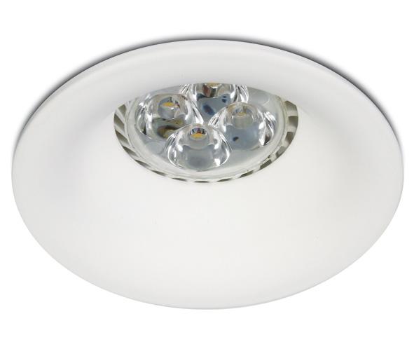 INA-F/DL MR16, GU10, 50W, fix, IP20, white