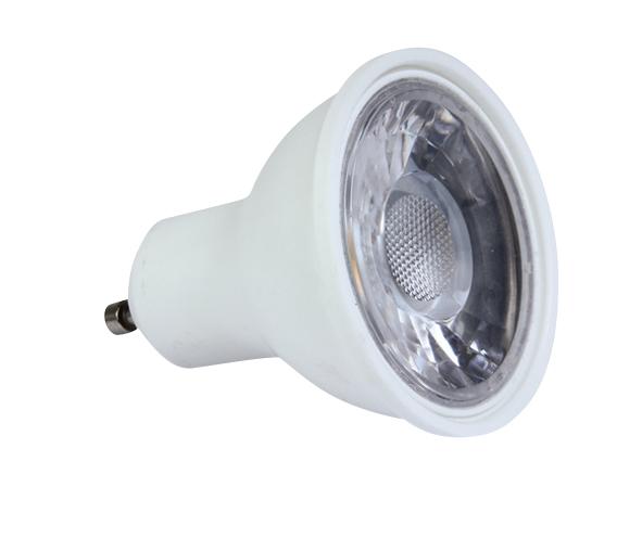 SMD LED GU10, 5W, 3000K, 350lm, 38°, 230V