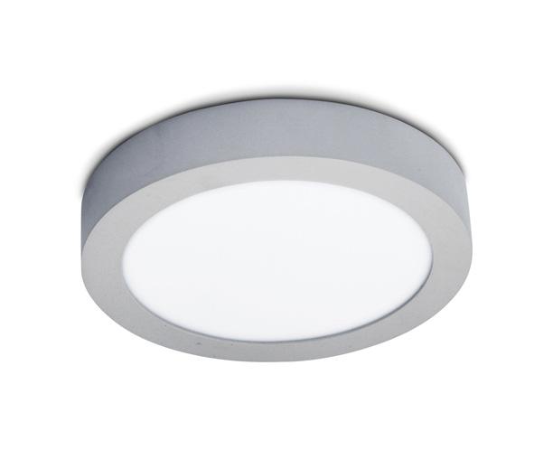 Plano Round LED Plafo, 30W, 4000K, 1997lm, IP40, white