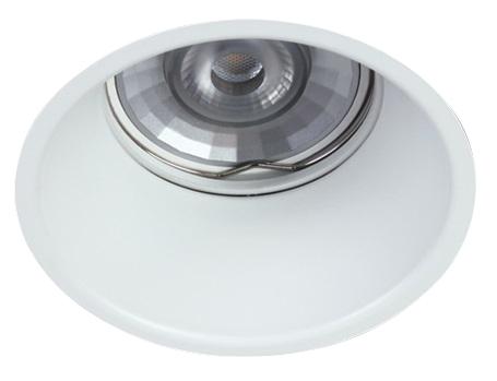 INA-F ST MR16, GU10, 50W, IP20, aluminium, white