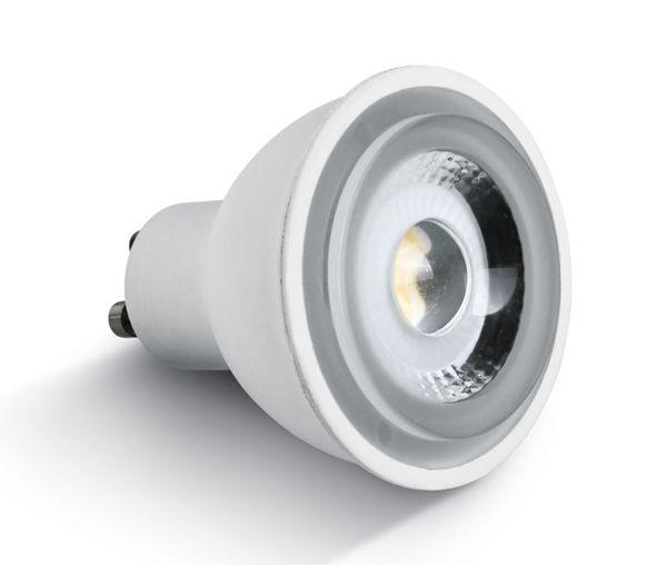 LED lamp MR16, 6W, GU10, 3000K, 500lm, 230V, 60°, dimmable