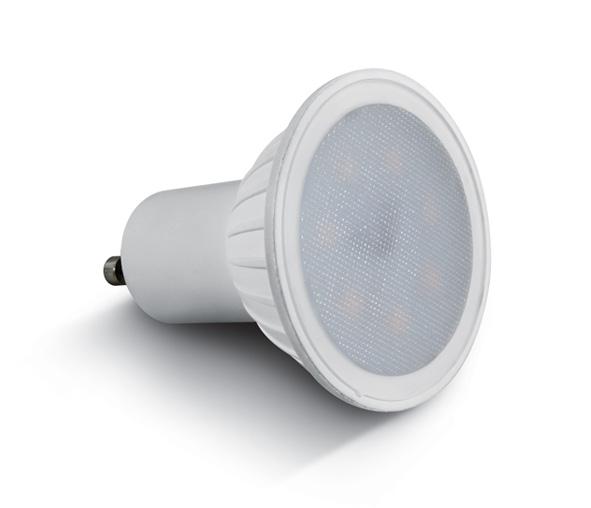 GU10 LED bulb 7W 230V 430lm 3000K 100°