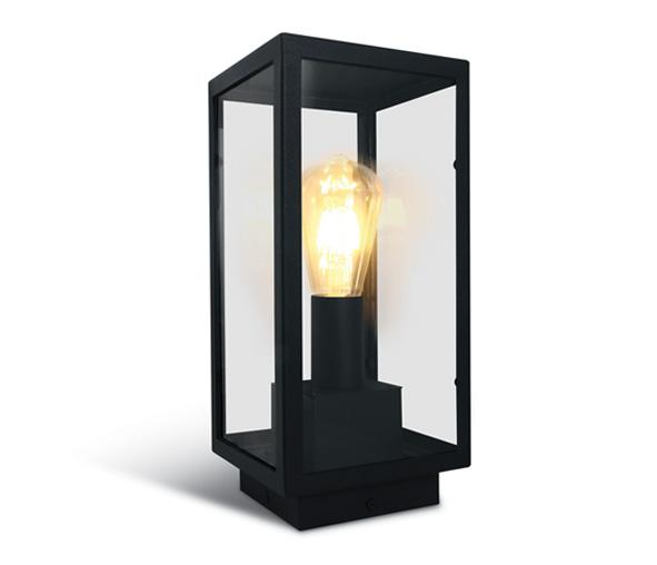 Still E floor lamp 40W E27 100-240V IP43 Black