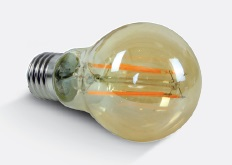 Retro Amber Lamp LED 6,5W E27 230V 550lm 2200K dimmble
