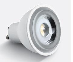 GU10 LED bulb 6W 230V 520lm 4000K 60°