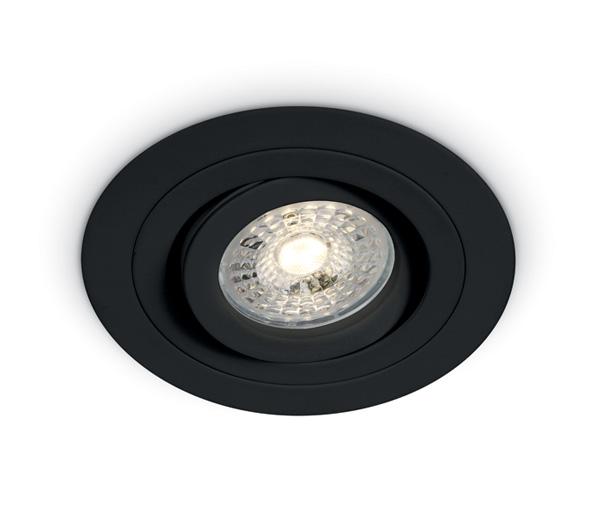 Punto-A/AL MR16, GU10, 50W IP20, BF, black