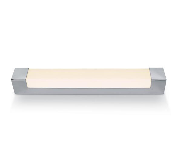 Bath Square Medium LED 23W 4000K, 1650lm, 580mm, IP44, chrom