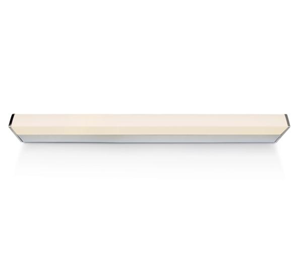 Bath Square Small LED 23W, 4000K, 1650lm, 880mm, IP44, chrom