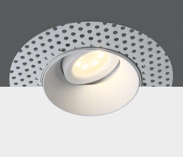 Pao LED Spot 50W 100-240V MR16 GU10 IP20 trimless, white