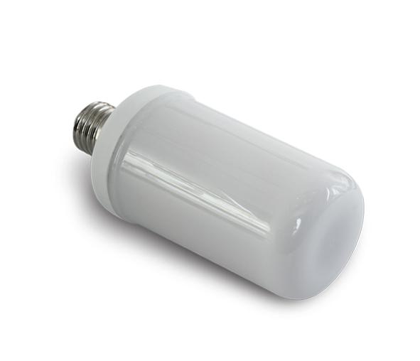 LED 6W, E27, 1600K, 100-240V, IP20, flackernde Flamme