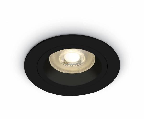 Ina-F MR16 Spot, GU10, 50W, IP20,black
