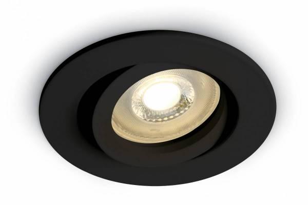 Saturn 1, 50W , MR16, GU10, 110-240V, IP20, black